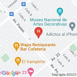 Mappa SERCOTEL PASEO HABANA
