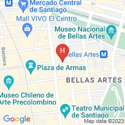 Mappa TORRE TAGLE MONJITAS