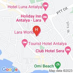 Mappa LARA WORLD