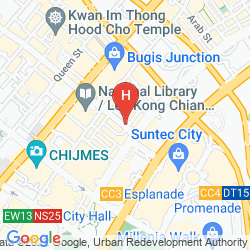 Mappa AMARIS HOTEL BUGIS