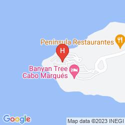 Mappa BANYAN TREE CABO MARQUES