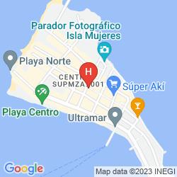 Mappa HOTEL BUCANEROS