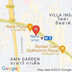Mappa THE LANDMARK BANGKOK HOTEL