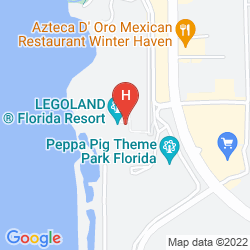 Mappa LEGOLAND HOTEL