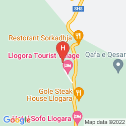 Mappa TOURIST VILLAGE LLOGORA