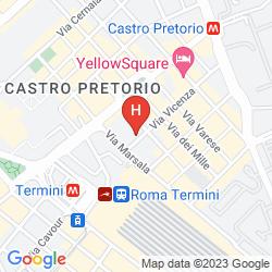 Mappa BEAUTIFUL PLACE IN ROME