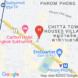 Mappa AMORA NEOLUXE HOTEL