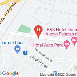 Mappa VIVA HOTEL ALEXANDER NOVOLI