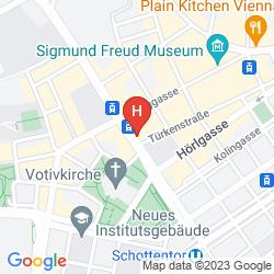 Mappa PENSION BARON AM SCHOTTENTOR