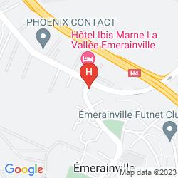Mappa BALLADINS EMERAINVILLE
