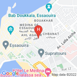 Mappa HOTEL LALLA MIRA