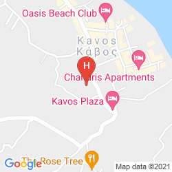 Mappa KAVOS PANORAMA COMPLEX