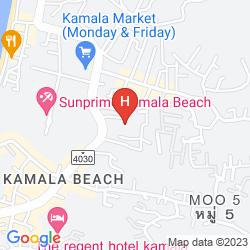 Mappa KAMALA BEACH RESORT (A SUNPRIME RESORT)