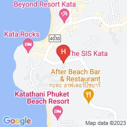 Mappa KATA PALM RESORT AND SPA