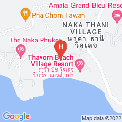 Mappa THAVORN BEACH VILLAGE & SPA