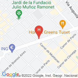 Mappa WILSON BOUTIQUE HOTEL