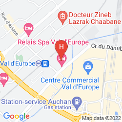 Mappa ELYSEE VAL D'EUROPE