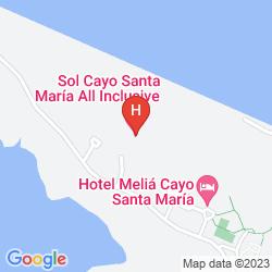 Mappa SOL CAYO SANTA MARIA