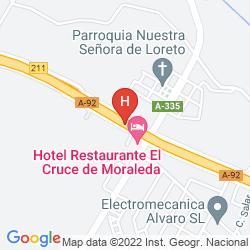 Mappa HC EL CRUCE
