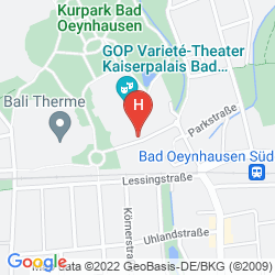 Mappa VIENNA HOUSE EASY BAD OEYNHAUSEN