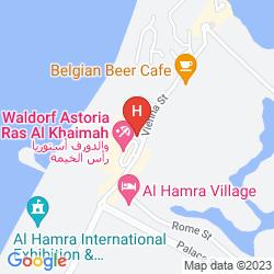 Mappa AL HAMRA RESIDENCE AND VILLAGE