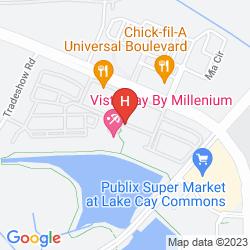 Mappa VISTA CAY RESORT