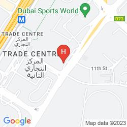 Mappa NOVOTEL WORLD TRADE CENTRE DUBAI