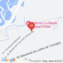 Mappa ADONIS LA BAULE