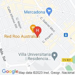 Mappa VILLA ALOJAMIENTO Y CONGRESOS