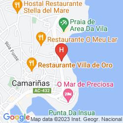Mappa HOSTAL HOSPEDAXE PLAIA