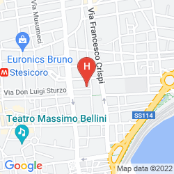 Mappa DE CURTIS PALACE