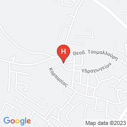 Mappa FLOREA HTL APTS