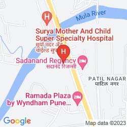 Mappa HOLIDAY INN HINJEWADI