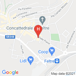 Mappa HOTEL DORIGUZZI