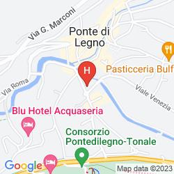 Mappa HOTEL BELLAVISTA