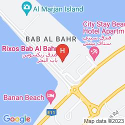 Mappa RIXOS BAB AL BAHR
