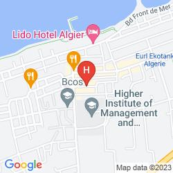 Mappa HOTEL PALACE APART