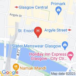 Mappa ST ENOCH HOTEL