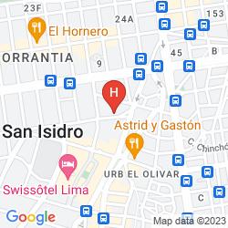 Mappa SUITES ORRANTIA