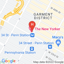 Mappa THE NEW YORKER, A WYNDHAM