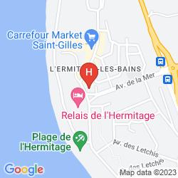 Mappa BLUE BEACH