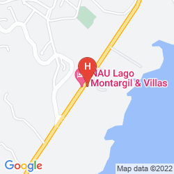 Mappa HOTEL DO LAGO MONTARGIL