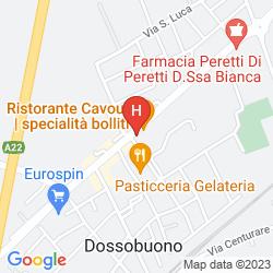 Mappa POSTUMIA HOTEL