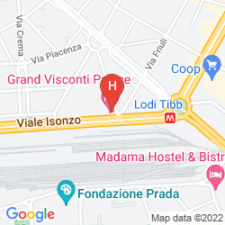 Mappa GRAND HOTEL VISCONTI PALACE