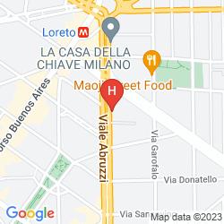 Mappa AFFITTACAMERE SCACCO MATTO