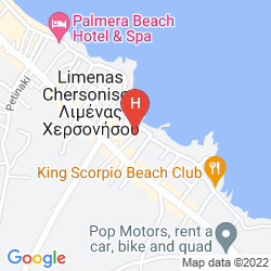 Mappa ARLEN BEACH HOTEL