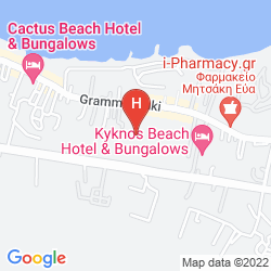 Mappa SERGIANI APARTMENTS