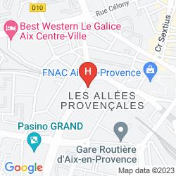 Mappa RENAISSANCE AIX EN PROVENCE