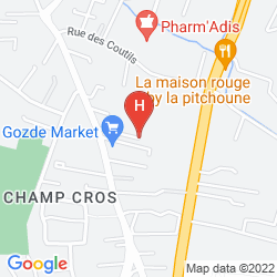 Mappa INTER-HOTEL REPUBLIQUE