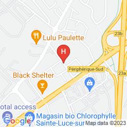 Mappa INTER-HOTEL NOVELLA NANTES CARQUEFOU